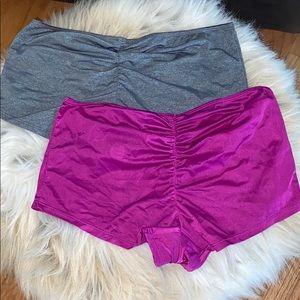 2 Victoria's Secret Shortie Panties